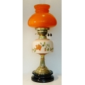 Art Deco Oil Lamp