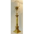 Victorian `Banquiting`  Oil Lamp