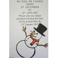 A-XMAS Opening Times